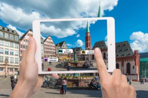 Technologie der Augmented Reality